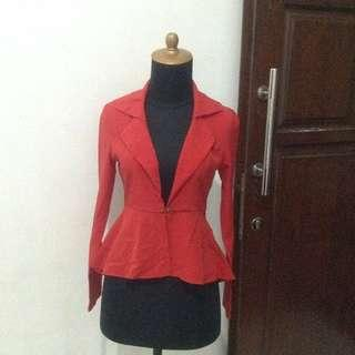 SALE atmosphere blouse red no 6