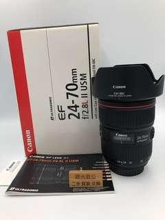 Canon EF 24-70mm F2.8 L II 佳能 二手