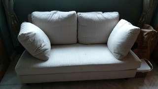 二人座布沙發