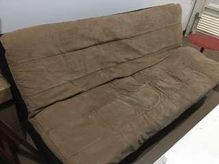 Sofa bed cream