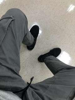 🚚 工作 口袋 工裝 機能 抽繩 軍綠 刷舊 長褲