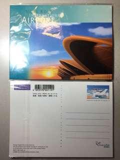香港國際機場郵資已付卡,六張壹套