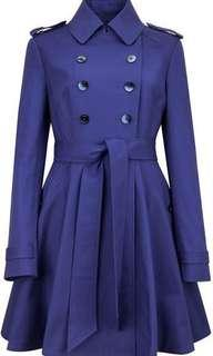 🚚 Ted Baker Blue Trench Coat