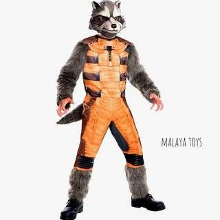 Marvel Avenger : Rocket Raccoon Teenager Costume #SnapEndGame