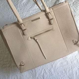 HUGE Beige Handbag!
