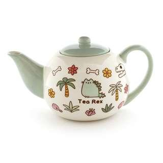 Gund Pusheen Tea Rex Tea Pot 4.375 Inches  🐱🦕