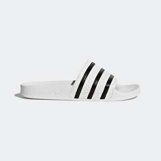 d42a08e04 Adidas Adilette slides in White and Black