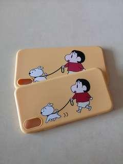 iPhone Cute Shin Chan Rubber Case