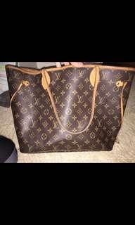 authentic vintage louis vuitton bag