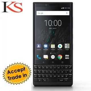 (Sold Out) Blackberry Key2 (Model-BBF100-1) Used