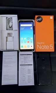 Xiaomi Redmi Note 5 pro second TAM GARANSI
