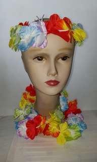 夏威夷花環3件裝 Hawaiian wreath set