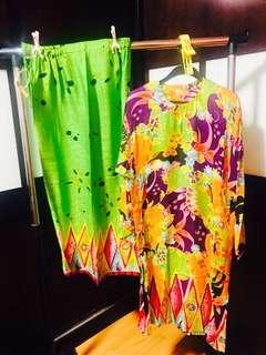 🚚 Baju  Kurung Kelantan Silk