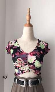Preloved miss Selfridge floral top