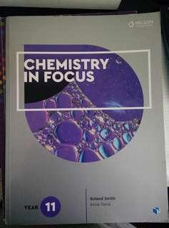 Chemistry in Focus Year 11 (No online access codes)