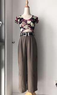 Dark drown vintage pants
