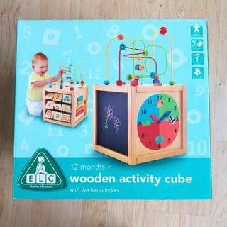 Brand New ELC Giant Wooden Activity Cube