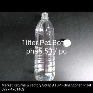 120pcs 1liter Pet Bottle