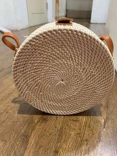 Rattan bag made in bali