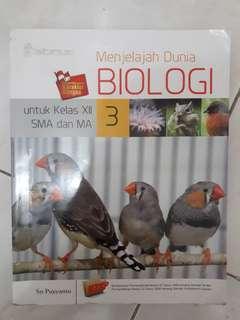 Buku pelajaran Biologi SMA/MA kelas XII