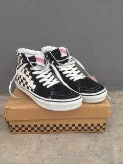 VANS SK8 HI Checkerboard Black White