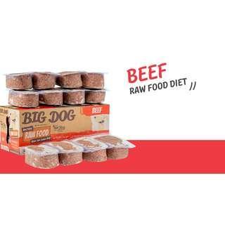 🚚 Big Dog Raw Diet - Beef