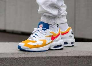 Nike Air Max 2 Light White / Gold / Yellow