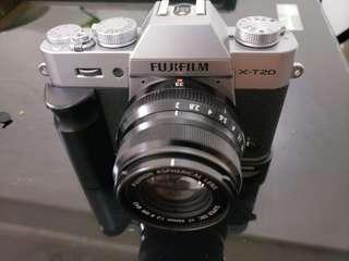 Fujifilm XT20 and 35mmF2 Lens