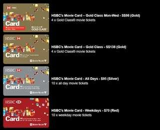 🚚 GV Movie Card HSBC