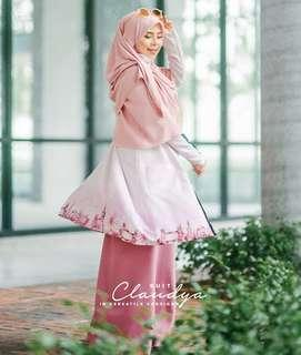 Claudya Suit by Jelita Wardrobe (Lilac Pink Size L)