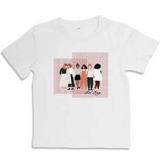 #girlgang Kids White Tshirt