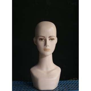 Manekin Kepala Wanita Dewasa