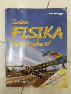 Buku pelajaran sains FISIKA SMA/MA kelas X