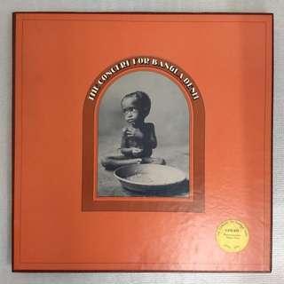 George Harrison's 1971 Live Concert for Bangladesh  (Triple Album)