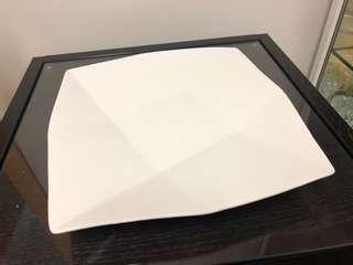 Big White Plate