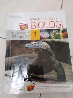 Buku pelajaran biologi SMA/MA kelas X