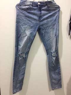 🚚 水洗破壞牛仔褲