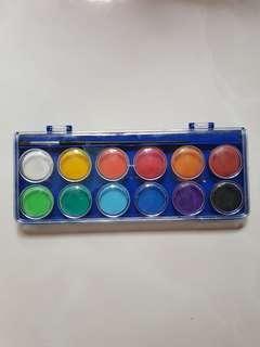 Omni water colour cakes 12 colour