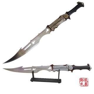 Final Fantasy XIII Lightning Farron Cosplay METAL Weapon