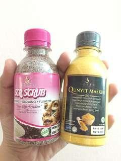 Qunyit Masker & Coffee Scrub