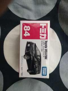 Tomica No.84 Toyota Vellfire Black
