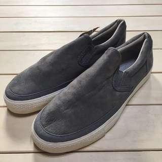 無印良品 MUJI 懶人鞋 起毛 灰色 24.5cm