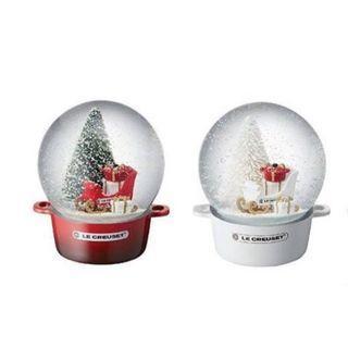 Le Creuset snowball snow globe 2018