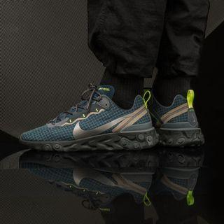 Nike React Element 55 Grid Ripstop Blue / Green / Black