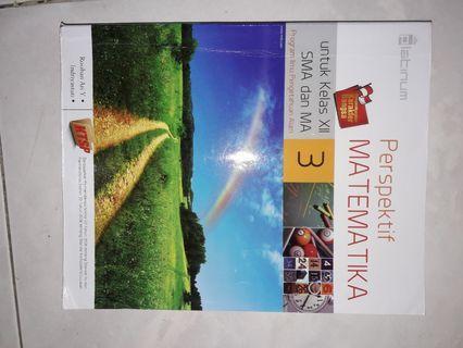 Buku pelajaran Matematika SMA/MA kelas XII