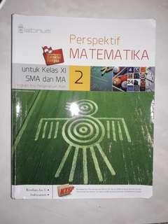 Buku pelajaran Matematika SMA/MA kelas XI