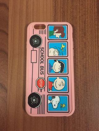 Case iPhone 6 bus pink