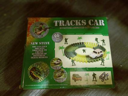 ARMY PLAY SET 96 TRACK PCS Educational assemble orbit series