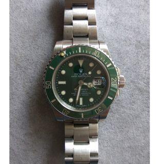 Rolex Submariner Green Hulk