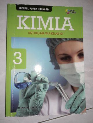 Buku pelajaran KIMIA SMA/MA kelas XII
